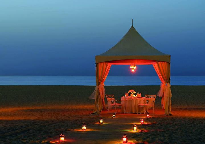 Romantic dating place